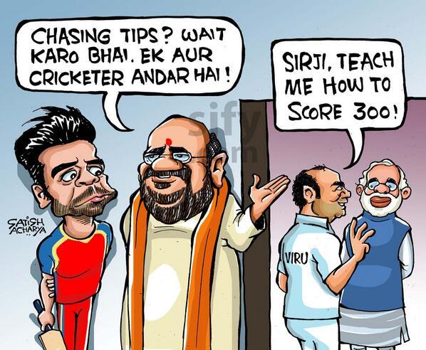 Satish Acharya 17 May 2014